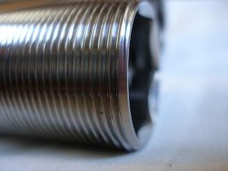 Suzuki Hyabusa titanium swinging arm spindle frame thread, 32x1.5