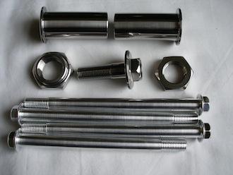 Kawasaki titanium and 7075 alloy parts