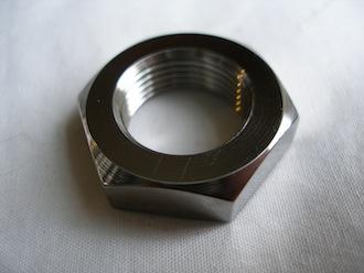 Kawasaki titanium clutch basket nut