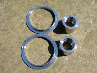 Ducati titanium sleeves