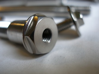 Honda Fireblade titanium sidestand bolt