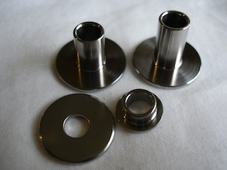 Montessa titanium top hat bushes