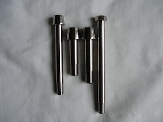 Titanium M10 & M12 suspension bolts