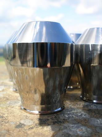 Titanium gear stick knob
