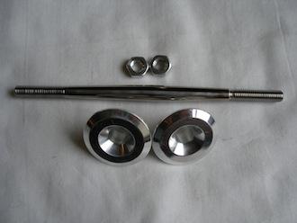 Honda titanium brake rod