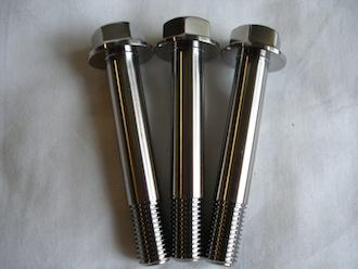 Titanium M10 suspension bolts