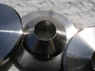 Honda 500/4 titanium valve spring retainer bottom