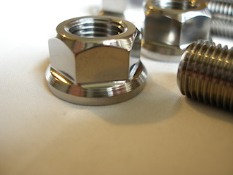 Turbo Bandit titanium engine mounting bolt nuts