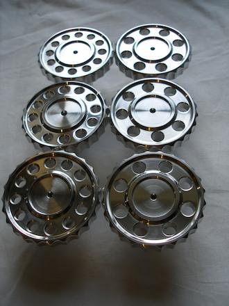 6062 alloy BSA Goldstar steering damper knobs