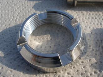 Hyabusa 7075 alloy swinging arm axle locking collar