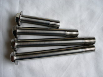ZX7RR titanium supension bolts