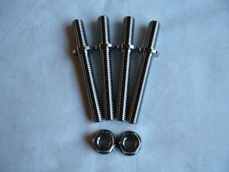 Honda titanium WSBK type chain adjuster studs