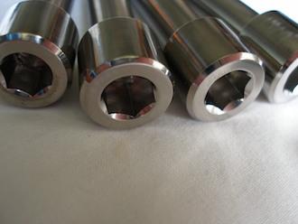 Montessa titanium 8mm socket cap suspension bolt heads