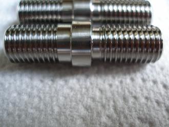 Titanium Aprilia BST sprocket stud undercut