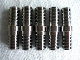 Titanium Aprilia BST sprocket studs