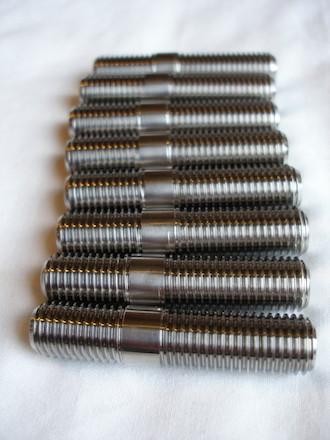 Titanium 7/16 UNF studs
