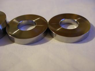 Titanium spacers