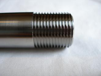 Borile titanium rear wheel spindle thread, 20x1.5