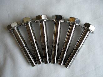Honda SP2 titanium yoke pinch bolts