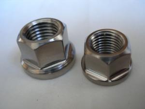 Titanium UNC nuts