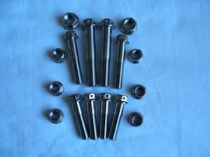 Titanium UNC bolts and nuts