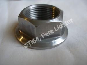 Honda SP2 7075 alloy rear wheel axle nut