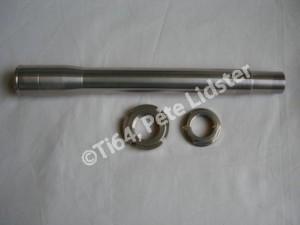 Suzuki GSXR1100 7075 alloy steering head stem and nuts