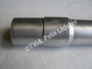 Yamaha XS750 7075 alloy steering head stem yoke and bearing lands