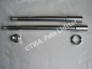 Suzuki GSXR1000K7 7075 alloy axles