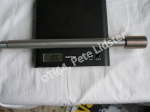 Suzuki GSXR1000K7 7075 alloy swinging arm axle weight