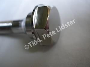NSU titanium bolt head