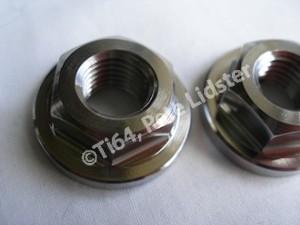 NSU titanium flanged nut