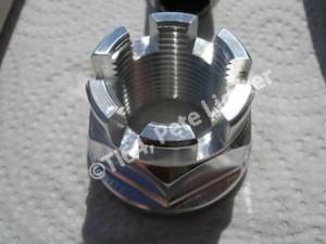 Kawasaki ZX10R 7075 alloy rear wheel spindle nut
