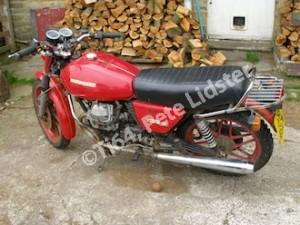 Moto Guzzi V50II for titaniumising