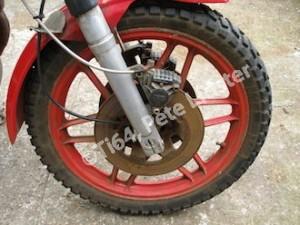 Manky front wheel