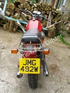Moto Guzzi V50II to be lightened...