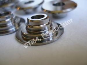 Titanium HRC valve retainer spring seats