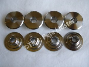 Titanium HRC valve retainers