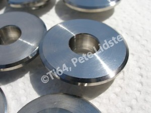 Titanium Westlake valve retainer top