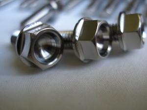 Honda titanium M6 bolt head