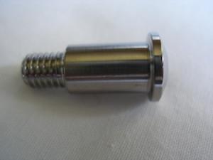 Honda titanium gear and brake lever pivot bolt