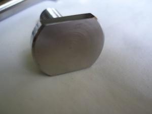 Lotus titanium slim head captive bolt