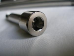 Montessa titanium socket cap suspension bolt