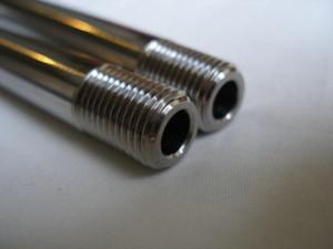 Suzuki GSXR titanium suspension link bolts threads