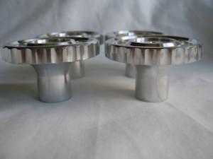 RGS alloy steering damper knobs, thumb grips
