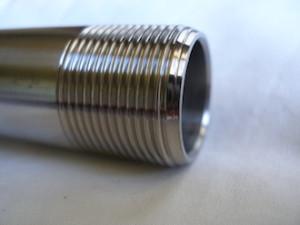 Kawasaki ZXR titanium swinging arm axle thread