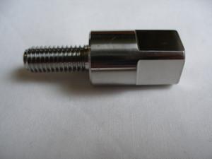 Mazda titanium manifold adapter