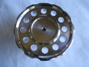 BSA RGS alloy steering damper knob