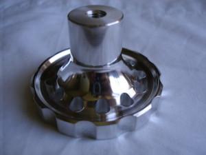 BSA RGS alloy steering damper knob underneath