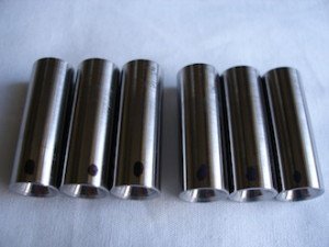 Titanium acoustic isolation shafts